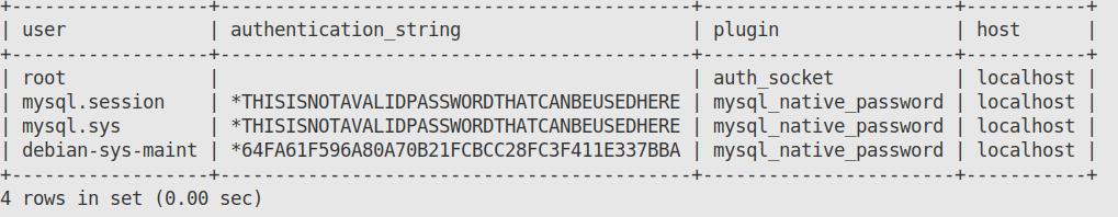 output-configuring-password-authentication-mysql-installation-ubuntu