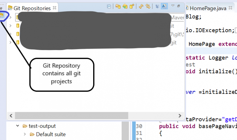 git-repository-page-integrating-github-with-selenium