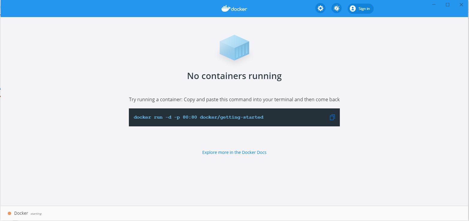 logging-in-docker-desktop