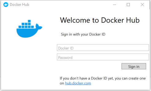 default-docker-welcome-page